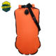Best quality safe swimmer buoy inflatable life buoy floating dry bag pack for open water swimming and triathletes