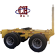 Heavy duty 2Axles Drawbar Towing Dolly skeleton Container Full Trailer for Sale