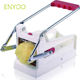 French Fry Cutter Professional Potato Slicer With 2 Interchangeable Blades Also Use for Vegetables Like Cucumber, Carrot