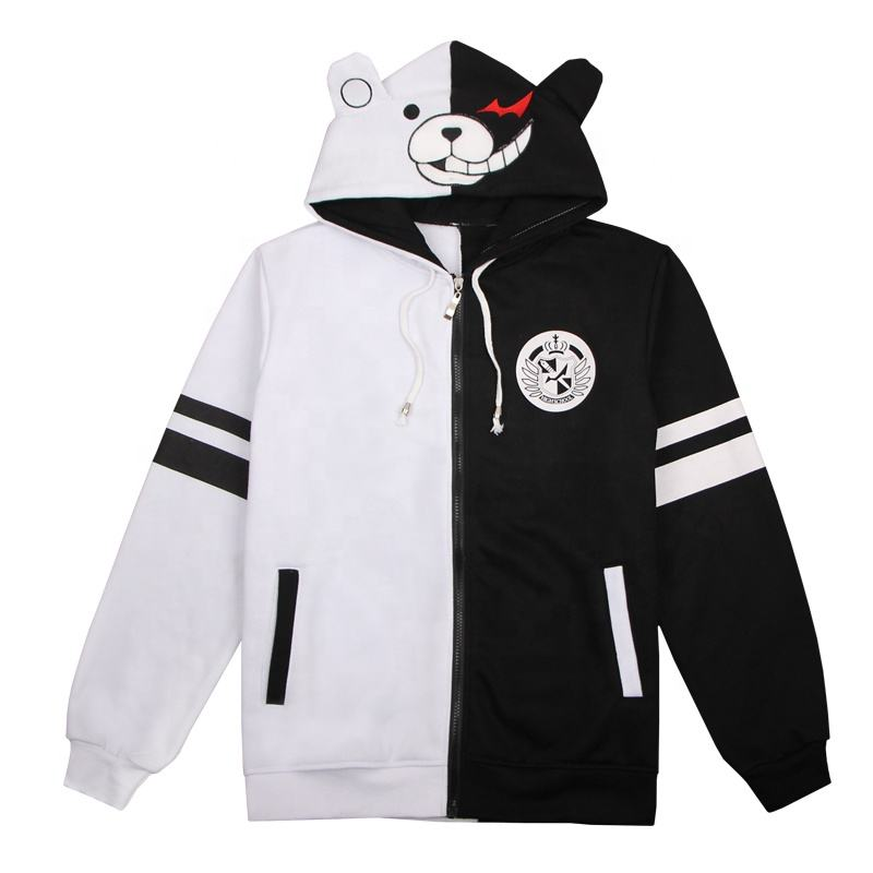 Anime hoodie Danganronpa monokuma men's sports hoodie 2019 anime 3D long-sleeved custom large xxxxl winter wear printed hoodie