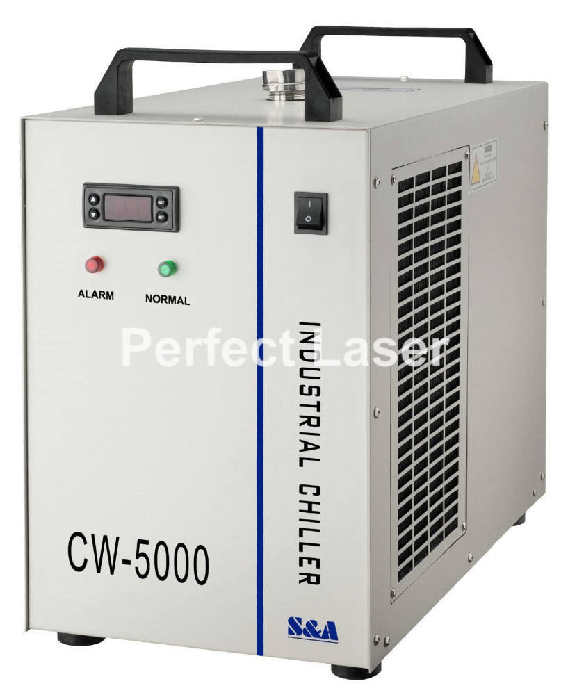 CW5000 <span class=keywords><strong>CO2</strong></span> Mesin Laser Air <span class=keywords><strong>Pendingin</strong></span> Chiller