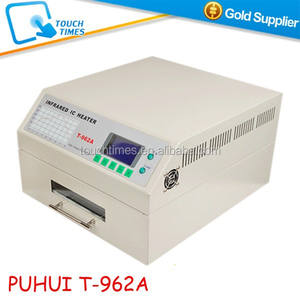 PUHUI T962A Infrared Reflow Oven SMD Soldering Machine 1500W T-962A for BGA Rework
