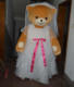 female teddy bear costume wedding brown bear mascot for adults