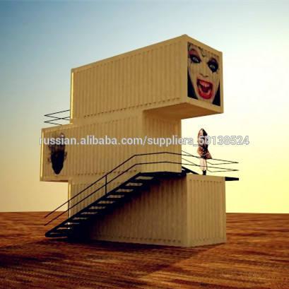 40футов сваренный контейнерный дом