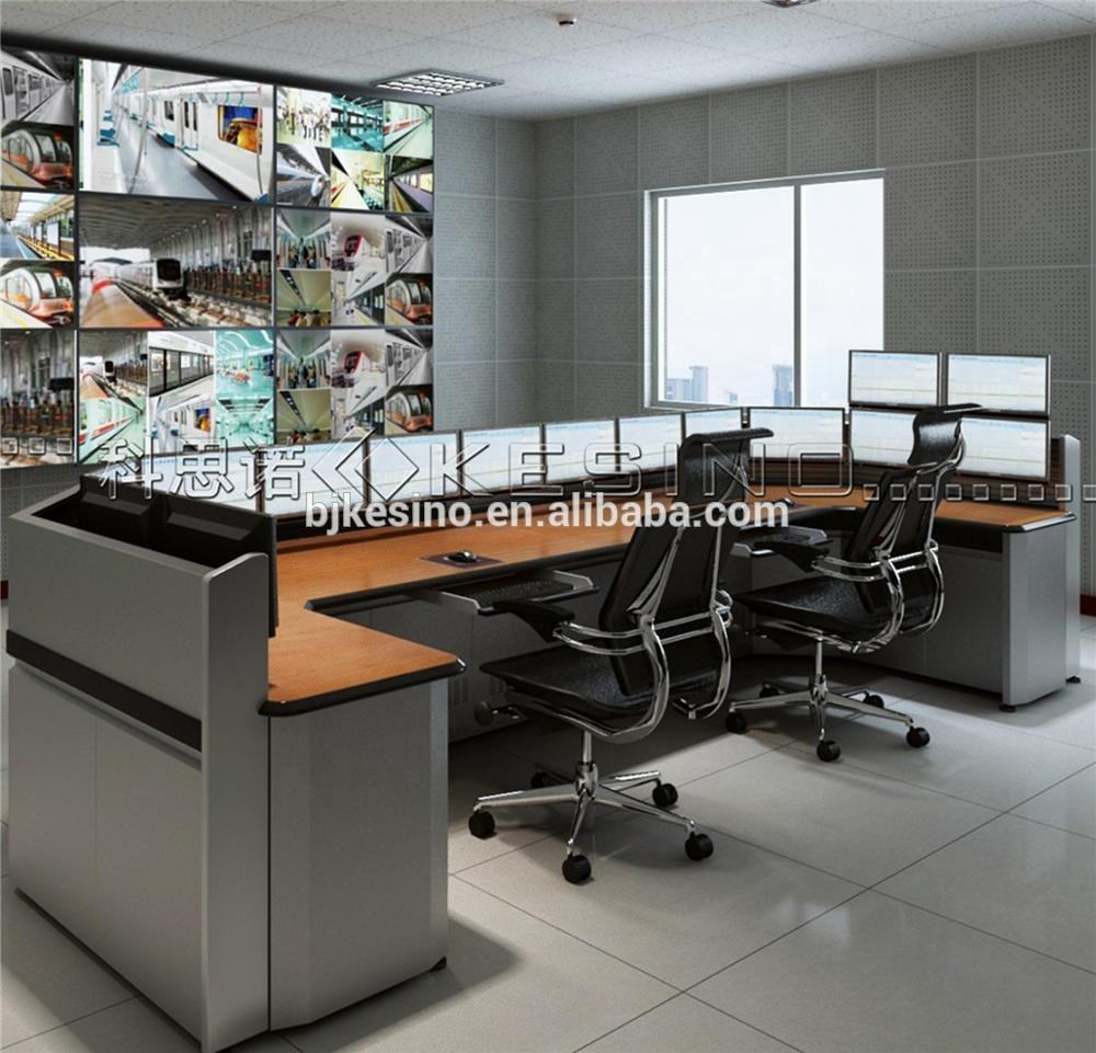 ISO Certified Console In Control Room Office Furniture