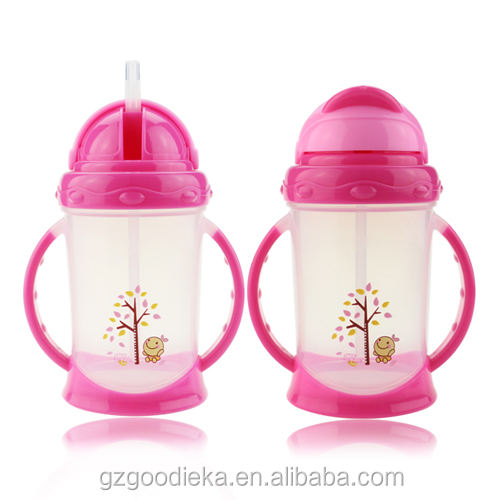 No spill toddlers BPA free baby sippy training cup 8OZ