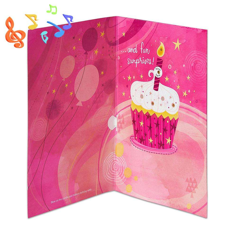 Happy birthday 123 music greeting card voice recording greeting cards for birthday singing happy birthday music cards