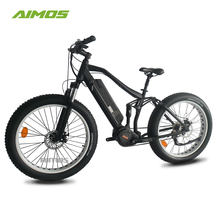 Aimos 26'' 4.0 tyre 8FUN ultra electric bicycle Bafang 1000w electric bike with 14.5ah battery