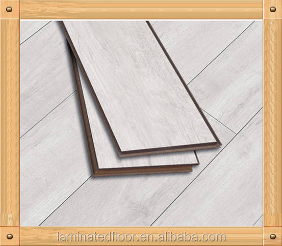 7mm 8mm white washed laminated floor u groove border designs
