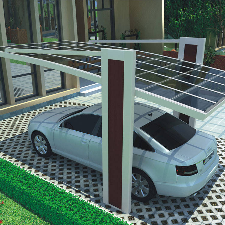 metal aluminium car port carport outdoor canopy