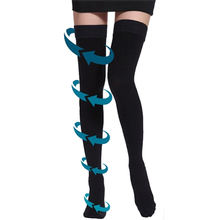 China Manufacturer High Tight Varicose Veins Tube Medical Compression Stockings