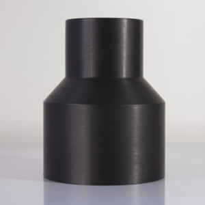 hot sale BFR9063A HDPE welding reducer HDPE concentric reducer hdpe reducer pe fitting