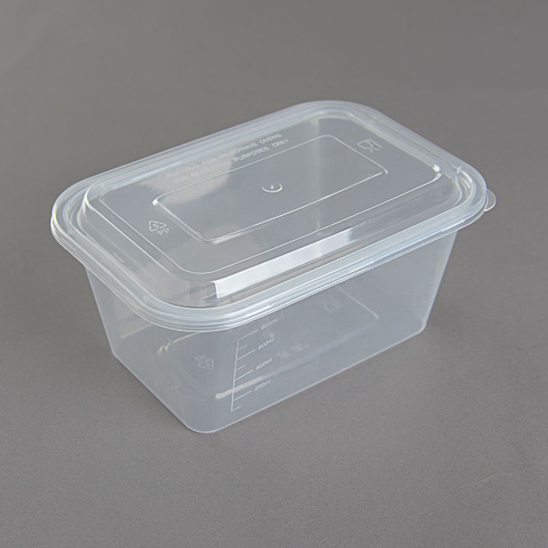 Fast food container disposable take away plastic lunch box