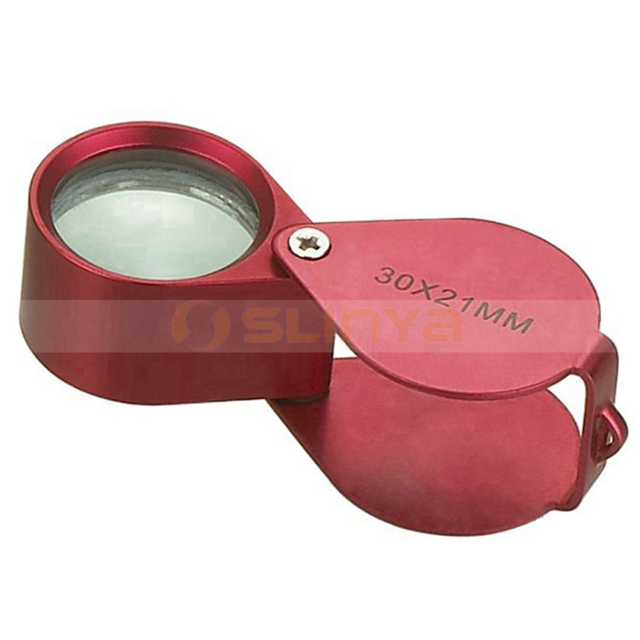 Multicolor Hand-hold Adjustable Magnifying Glasses Pocket Jewelry Loupe