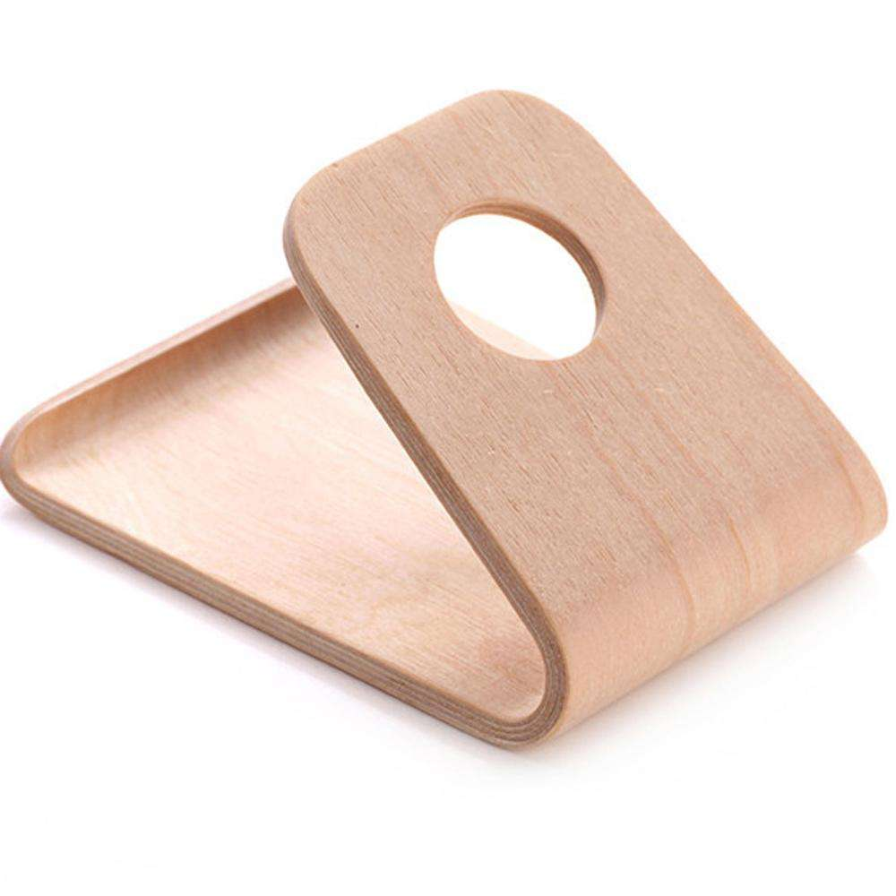 Real Natural Wooden Bracket Wood Holder for Smartphone Mobile Phone Holder