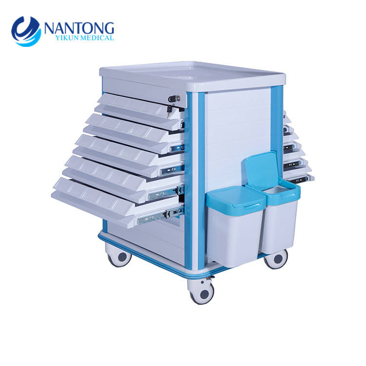 medical ABS hospital medicine trolley