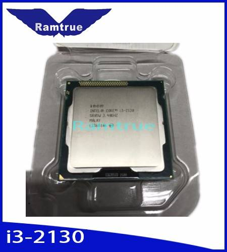 Intel Sandy Bridge Desktop del computer portatile notebook cpu utilizzata core i3-2130 i3 2130 LGA 1155