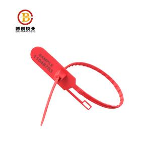 BCP102 easy tear off type plastic security seals for container
