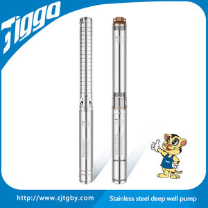 3 inch deep well pump  centrifugal stainless steel submersible pump