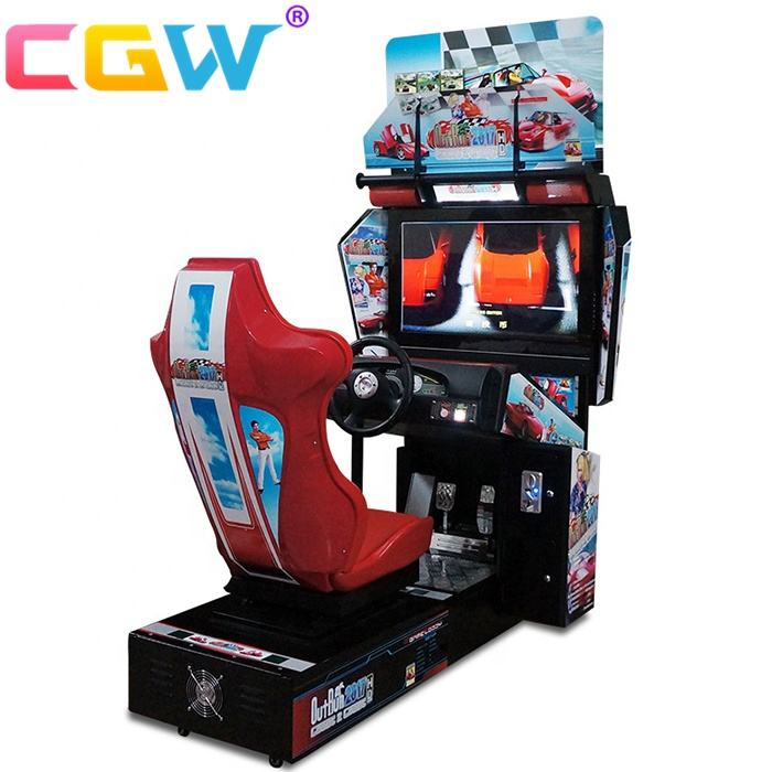 Outrun Car Racing Simulator Arcade Game Machine For Sale