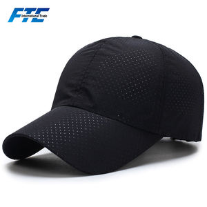 Custom Sport Polyester Mesh Cap Breathable Quick Dry Baseball Cap with Your Logo