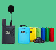 Newest tour guide system , audio UHF wireless tour Guide System,863~865MHZ long distance group guiding device