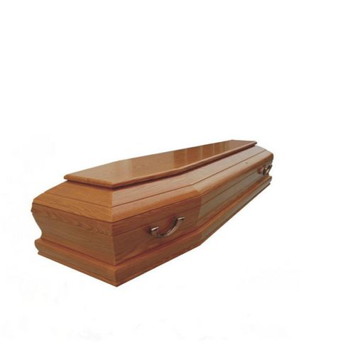 TD--E26 Funeral equipment solid paulownia wooden coffin of full couch