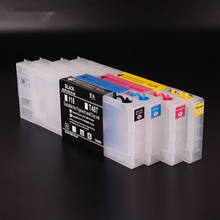 Ocbestjet 300ML/PC Empty Refillable Ink Cartridge For EPSON Color 3000 Printer