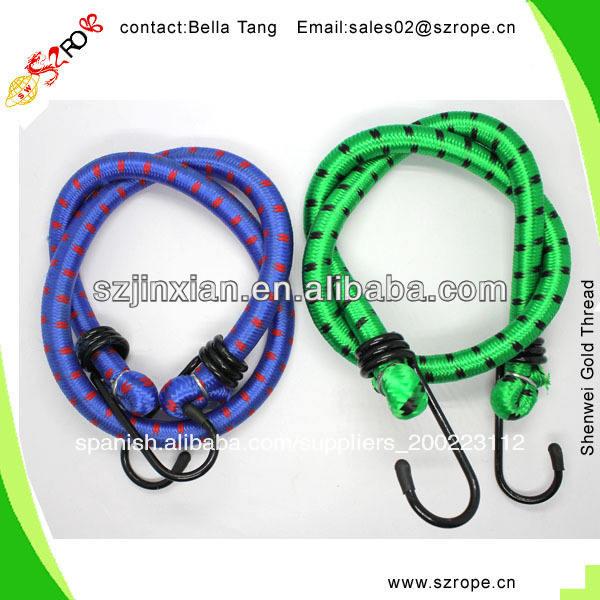 Cuerda elástica con gancho, elástico cuerda silla, elástico cuerda de <span class=keywords><strong>bungee</strong></span>