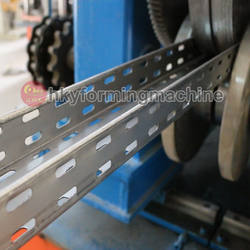 High speed automatic metal cable tray making machine