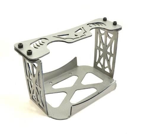 Stainless steel with powder coated heavy load bracket