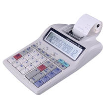 Thermal Printing Calculator With New 12 Digit Calculator/Kalkulator Print