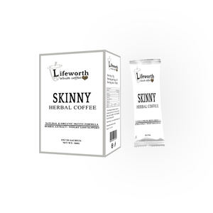 Lifeworth slimming lingzhi white coffee powder weight loss