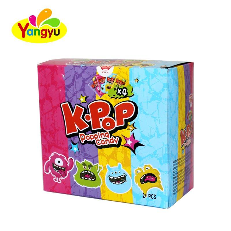 China Factory Popping Candy sour powder candy for India market