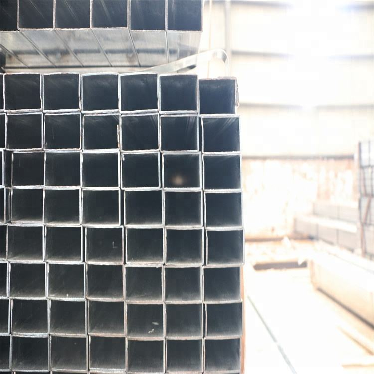 metal tubing big size hollow q235b tube galvanized square rectangle steel pipe and tubes