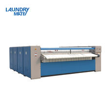 LaundryMate Industrial Fully Automatic Clothes Washing and Ironing Press Machine