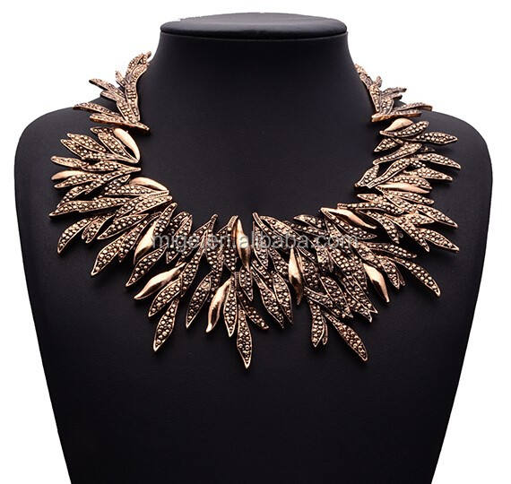 New fashion jewelry 2015 necklace statement N3559