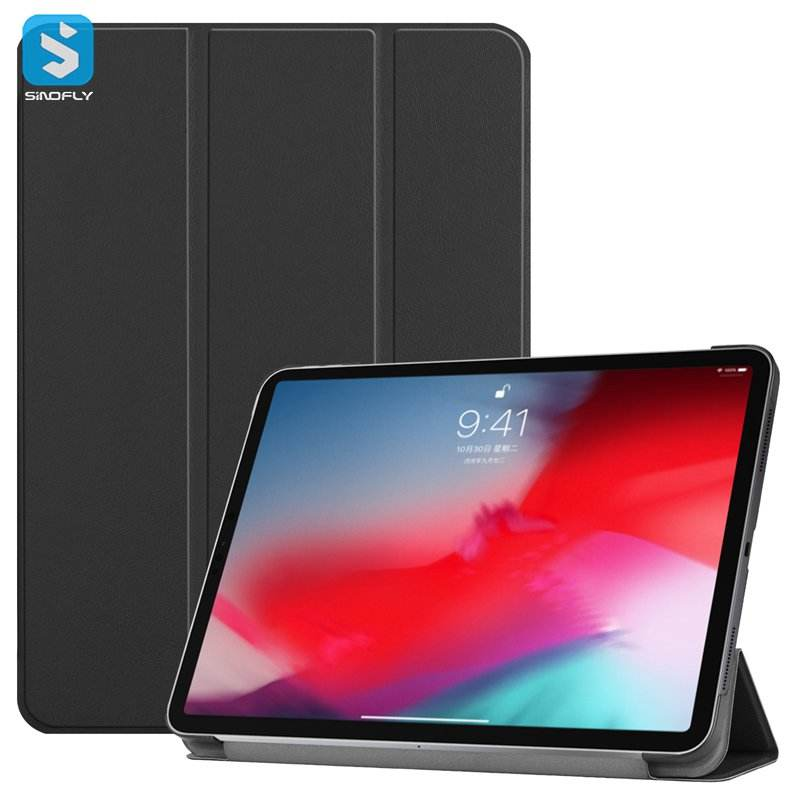 3 fold PU leather case cho <span class=keywords><strong>iPad</strong></span> Pro 11