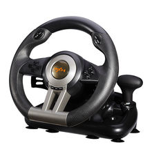PXN-V3II Factory Vibration Racing Steering Wheel Controller for PC/PS3/PS4/XBOX/SWITCH
