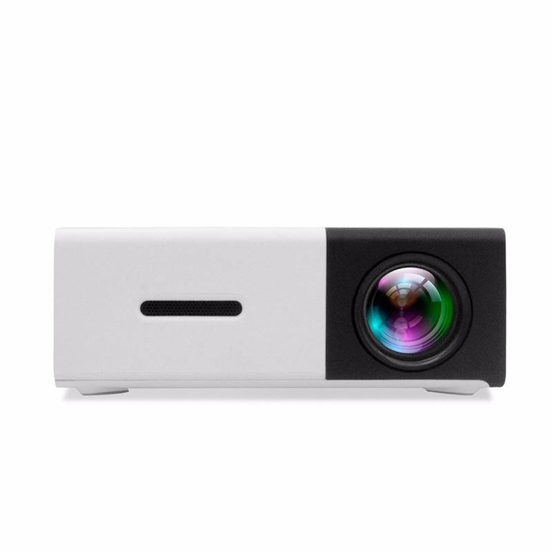 Pocket mini projector YG300 for mobile phone and tv 1080P portable mini LED projector YG300