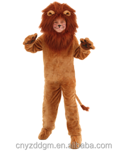 Adult Plush Lion Costume Adult Animal Halloween Cosplay Costumes