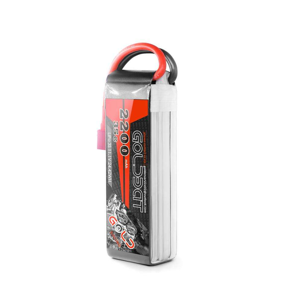 Chinese Wholesale OEM Support Lipo Battery 11.1V 3S 2200mAh 35C for RC Car Drone Boat Battery Lipo
