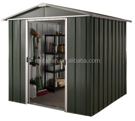 Low Price Customized Metal Garden Shed for Outdoor Storage