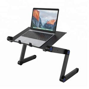 Adjustable Aluminum Laptop Desk/Stand/Table Vented Notebook Portable Laptop Stand