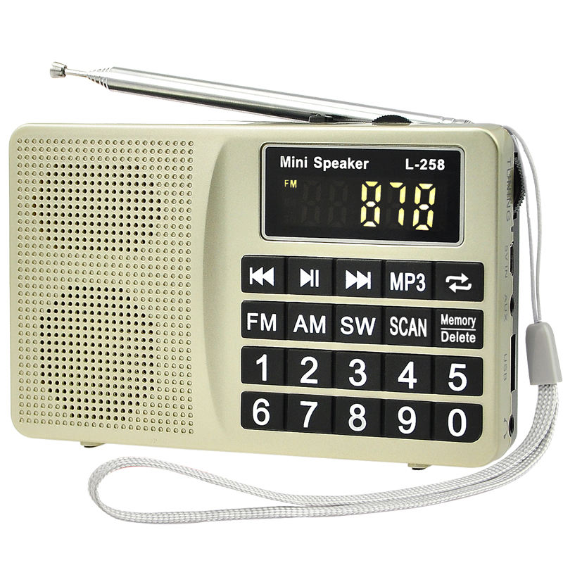 Fabrik kurze welle radio USB mp3-player FM AM SW multiband-funkempfänger