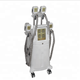 New arrival 4 handles Cryolipolysis body shaping slimming machine