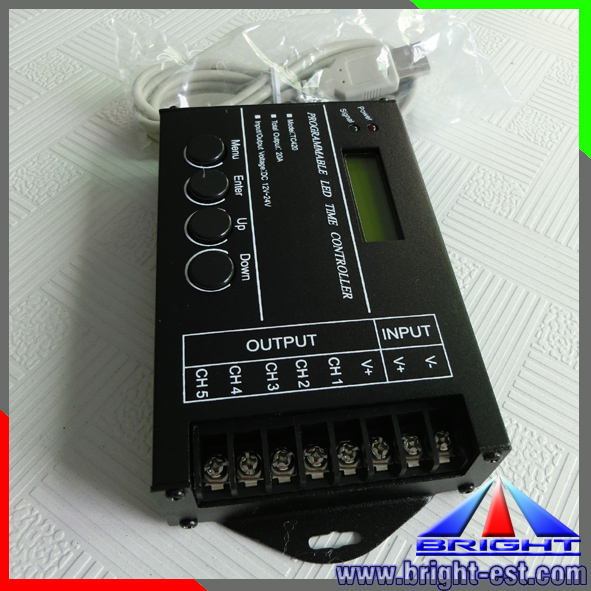 240W Advertising Programmable time led light controller tc420