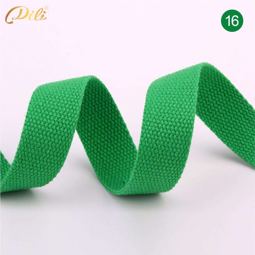 25mm polyester car safety seat belt Webbing Polyester Cotton webbing strap 1.5mm Thickness
