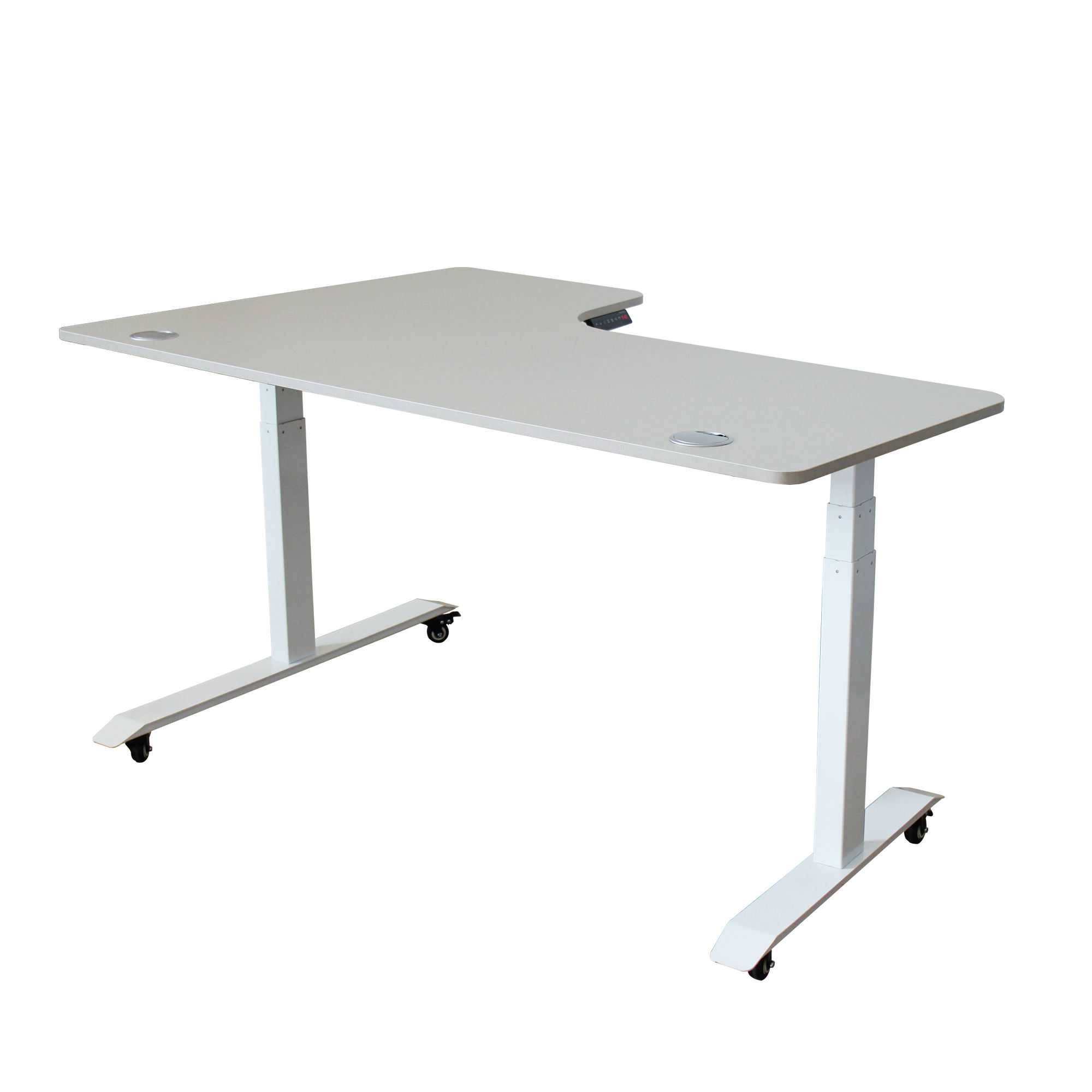 Office auto motorized desk height adjustable desk electric office standing desk