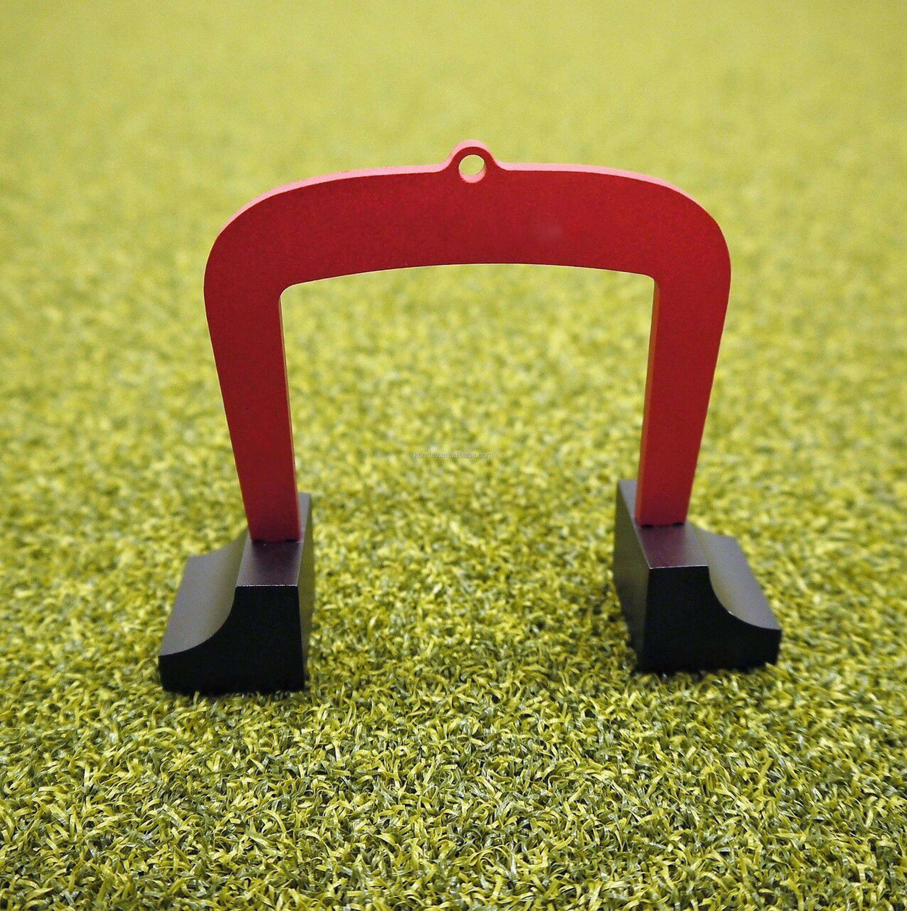Putting Aid for Golf - Portable Golf Putting Alignment and Aim Practice Training Tool